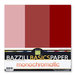 Bazzill Basics - Monochromatic Trio Packs - 12x12 - Pomegranate