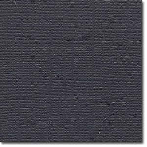 Bazzill Basics - 12 x 12  Raven Cardstock Pack (Textured)