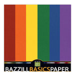 Bazzill - 12 x 12 Cardstock Pack - 30 Sheets - Rainbow