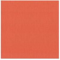 Bazzill Basics - 12 x 12 Cardstock - Canvas Texture - Flamingo