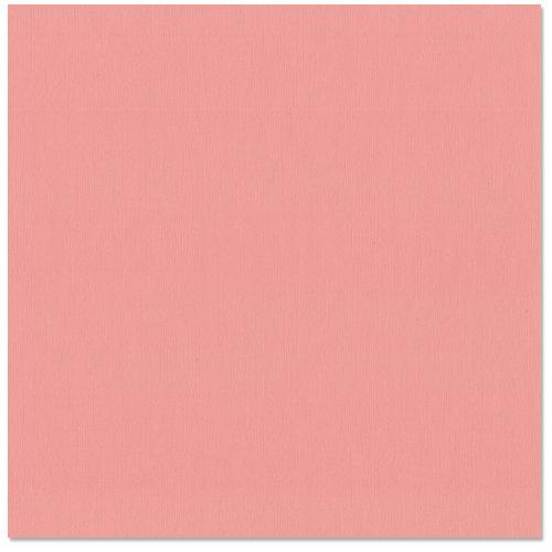 Bazzill Basics - 12 x 12 Cardstock - Grasscloth Texture - Piglet