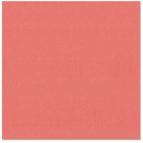 Bazzill - 12 x 12 Cardstock - Grasscloth Texture - Passionate