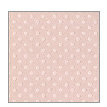Bazzill - Dotted Swiss - 12 x 12 Paper - Sunset Rose