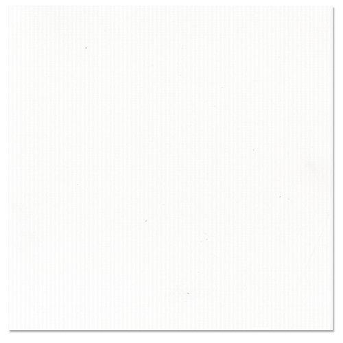 Bazzill Basics - 12 x 12 Cardstock - Classic Texture - Eggshell