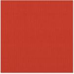 Bazzill - 12 x 12 Cardstock - Classic Texture - Tomato