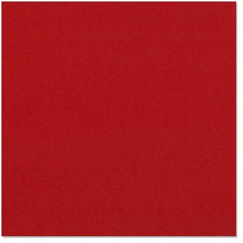 Bazzill Basics - 12 x 12 Cardstock - Classic Texture - Cardinal