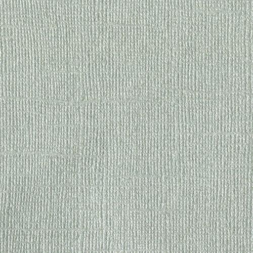 Bazzill Basics - 12 x 12 Cardstock - Canvas Bling Texture - Tungsten