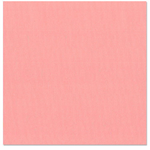 Bazzill Basics - 12 x 12 Cardstock - Canvas Bling Texture - Pink Cadillac