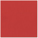 Bazzill Basics - 12 x 12 Cardstock - Grasscloth Texture - Grenadine