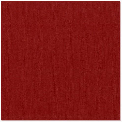 Bazzill Basics - 12 x 12 Cardstock - Grasscloth Texture - Ruby Slipper