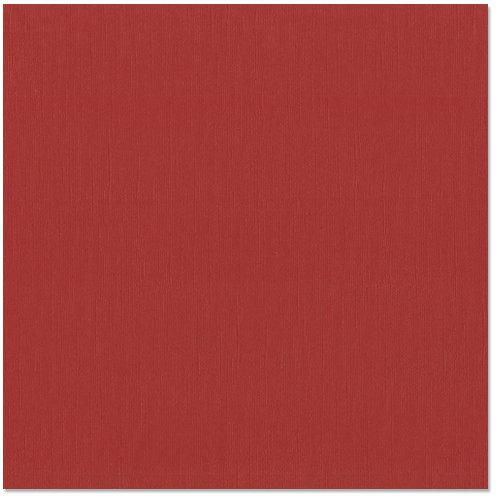 Bazzill Basics - 12 x 12 Cardstock - Canvas Texture - Pomegranate