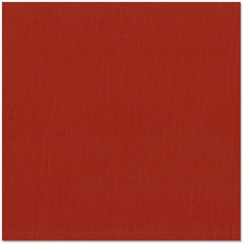 Bazzill - 12 x 12 Cardstock - Canvas Texture - Red