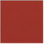 Bazzill Basics - 12 x 12 Cardstock - Canvas Texture - Red