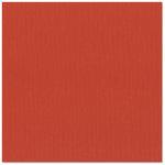 Bazzill Basics - 12 x 12 Cardstock - Canvas Texture - Lava