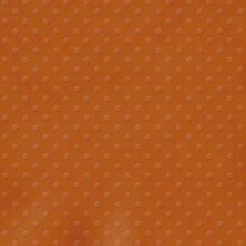 Bazzill Basics - 12 x 12 Cardstock - Dotted Swiss Texture - Terra Cotta