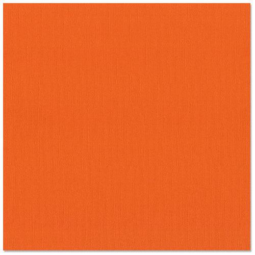 Bazzill Basics - 12 x 12 Cardstock - Canvas Texture - Orange