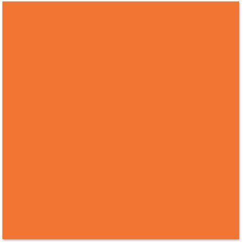 Bazzill Basics - 12 x 12 Cardstock - Smooth Texture - Orange Slice