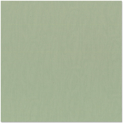Bazzill - 12 x 12 Cardstock - Canvas Texture - Moss
