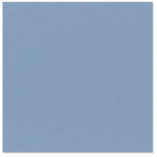 Bazzill - 12 x 12 Cardstock - Canvas Texture - Jacaranda