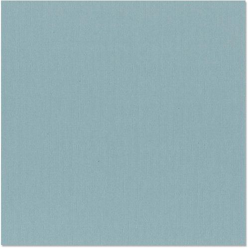 Bazzill Basics - 12 x 12 Cardstock - Canvas Texture - Coastal