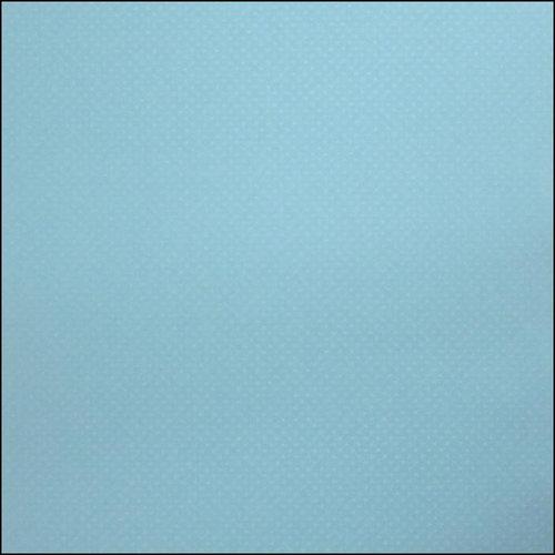 Bazzill Basics - Dotted Swiss - 12 x 12 Paper - Poolside