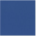 Bazzill Basics - 12 x 12 Cardstock - Canvas Texture - Bazzill Blue
