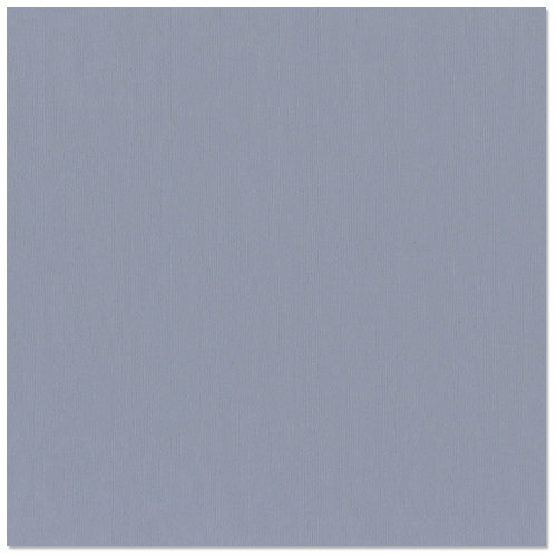 Bazzill - 12 x 12 Cardstock - Canvas Texture - Steel Blue
