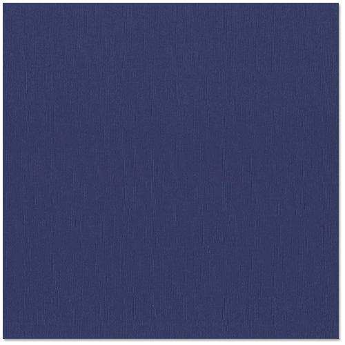 Bazzill Basics - 12 x 12 Cardstock - Canvas Texture - Admiral