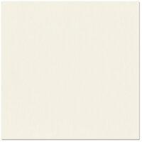 Bazzill Basics - 12 x 12 Cardstock - Criss Cross Texture - Cream Puff