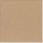 Bazzill Basics - 12 x 12 Cardstock - Canvas Texture - Fawn