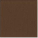 Bazzill Basics - 12 x 12 Cardstock - Grasscloth Texture - Mocha Divine