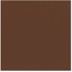 Bazzill - 12 x 12 Cardstock - Smooth Texture - Chocolate Cream