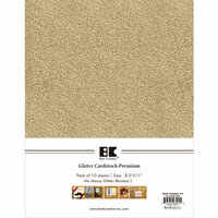 Best Creation Inc - A4 Glitter Cardstock Packs - Sand
