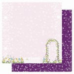Best Creation Inc - A Walk in the Garden Collection - 12 x 12 Double Sided Glitter Paper - My Garden