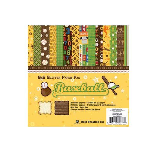 Best Creation Inc - Baseball Collection - 6 x 6 Paper Pad