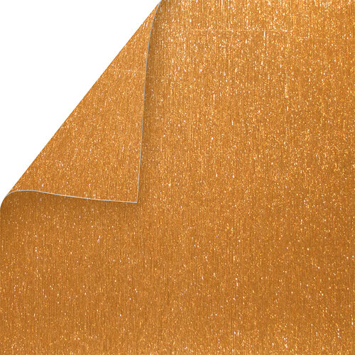 Best Creation Inc - 12 x 12 Double-Sided Brushed Metal Paper - Copper