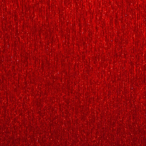 Best Creation Inc - 12 x 12 Brushed Metal Paper - Red