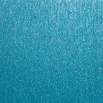 Best Creation Inc - 12 x 12 Brushed Metal Paper - Sky Blue