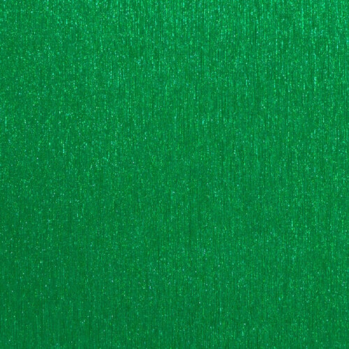 Best Creation Inc - 12 x 12 Brushed Metal Paper - Green
