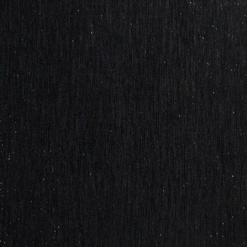 Best Creation Inc - 12 x 12 Brushed Metal Paper - Black