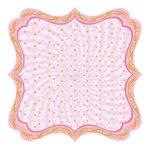 Best Creation Inc - Ballet Princess Collection - 12 x 12 Die Cut Glitter Paper - Love To Twirl