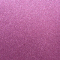 Best Creation Inc - 12 x 12 Glitter Cardstock - Rose