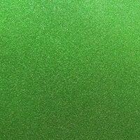 Best Creation Inc - 12 x 12 Glitter Cardstock - Green