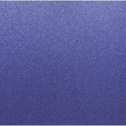 Best Creation Inc - 12 x 12 Glitter Cardstock - Jewel Blue