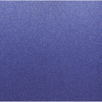 Best Creation Inc - 12 x 12 Glitter Cardstock - Jewel Blue