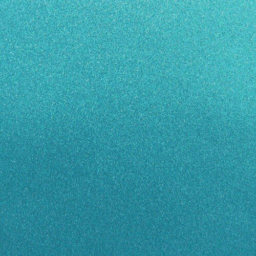 Best Creation Inc - 12 x 12 Glitter Cardstock - Ocean Blue