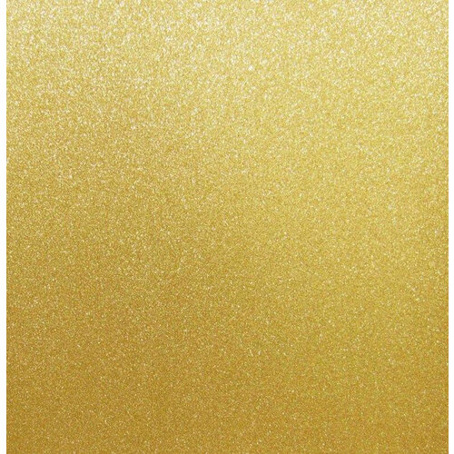 Best Creation Inc - 12 x 12 Glitter Cardstock - Gold