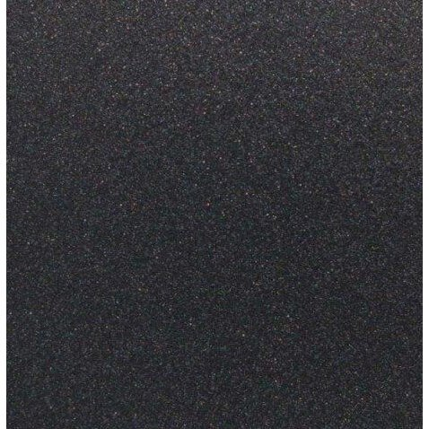 Best Creation Inc - 12 x 12 Glitter Cardstock - Black