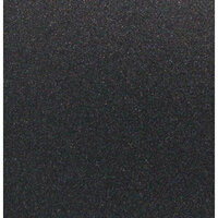 Best Creation Inc - 12 x 12 Glitter Cardstock - Black