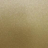 Best Creation Inc - 12 x 12 Glitter Cardstock - Light Gold
